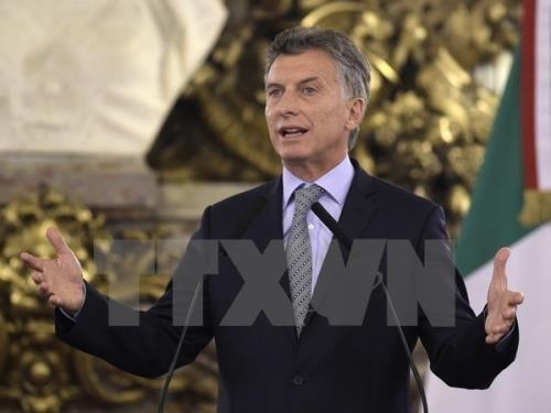 Argentine : le président Macri souhaite se représenter pour un deuxième mandat - ảnh 1