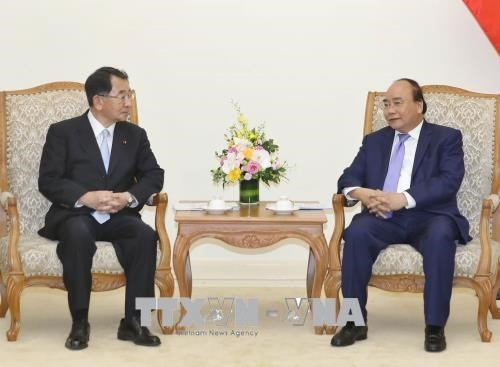 Nguyên Xuân Phuc reçoit le président l'Alliance des députés d'amitié Japon-Mékong - ảnh 1