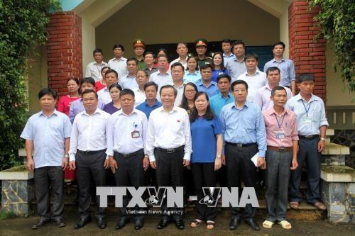 Phùng Quôc Hiên poursuit sa visite à Bac Kan - ảnh 1