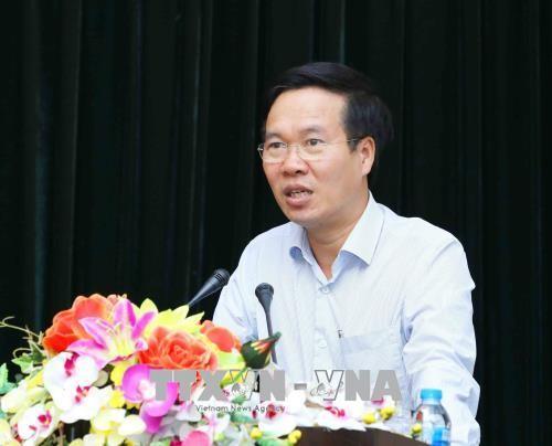 Vo Van Thuong rencontre les nouveaux représentants en chef du Vietnam à l'étranger - ảnh 1