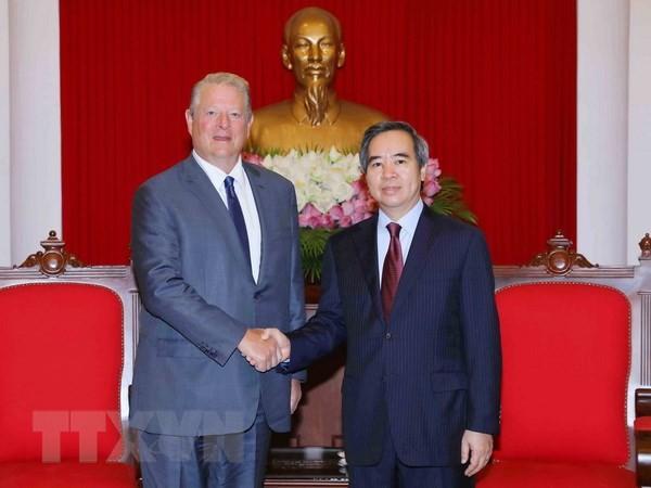 Nguyên Van Binh reçoit Al Gore - ảnh 1
