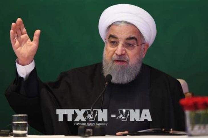 Réimposition des sanctions américaines: réaction de l'Iran - ảnh 1