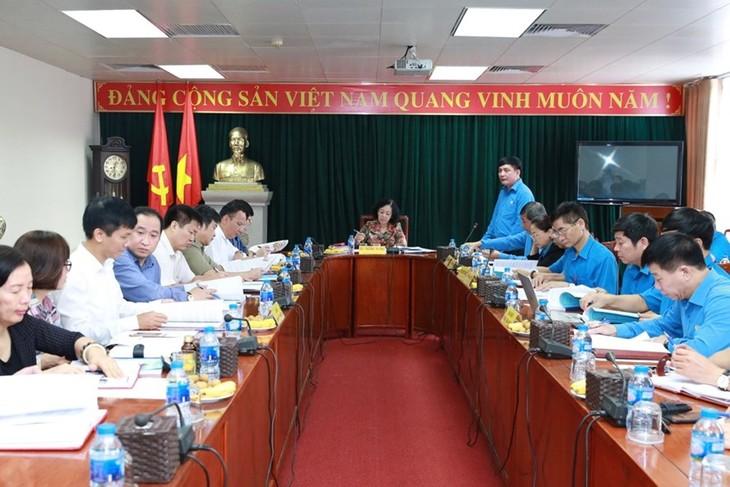 Le XIIe Congrès national des syndicats du Vietnam aura lieu du 24 au 29 septembre - ảnh 1