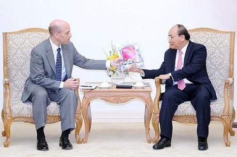 Le Premier ministre reçoit un responsable de Pepsi Co - ảnh 1