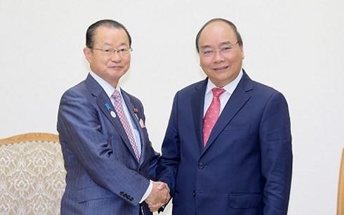 Nguyên Xuân Phuc reçoit une délégation de la Chambre des représentants du Japon - ảnh 1