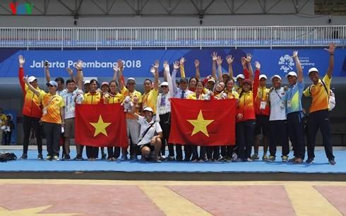 ASIAD 2018: le Vietnam 13e  au classement général - ảnh 1