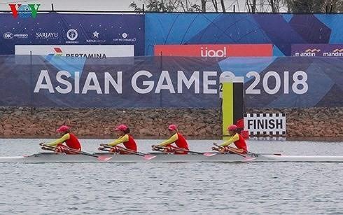 ASIAD 2018 : récompense de VOV à la médaille d'or du rowing féminin - ảnh 1