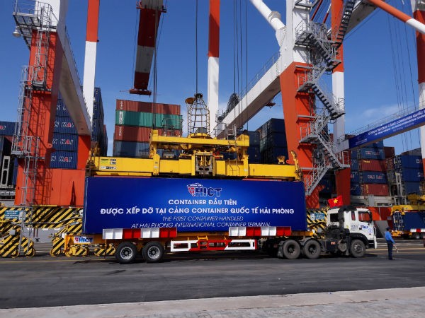 Inauguration d'un port international  à Hai Phong - ảnh 1