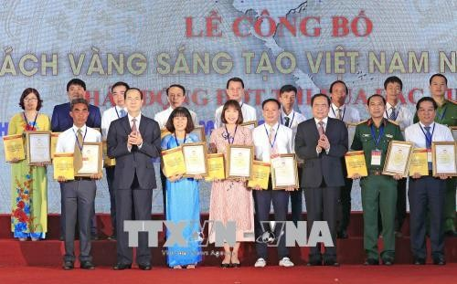 Publication d'un livre d'or sur l'innovation au Vietnam en 2018 - ảnh 1