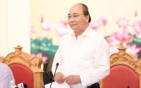 Le PM travaille avec les responsables de Quang Ninh - ảnh 1