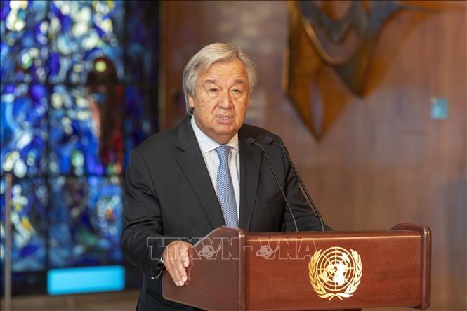 Le chef de l'ONU réclame l'arrêt immédiat des hostilités en Libye - ảnh 1