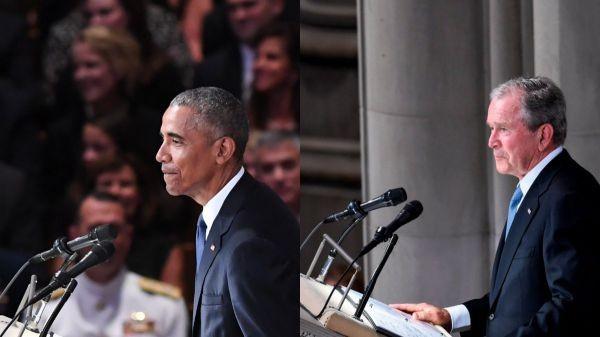 L'Amérique rend hommage à John McCain par la voix d'Obama et de Bush - ảnh 1