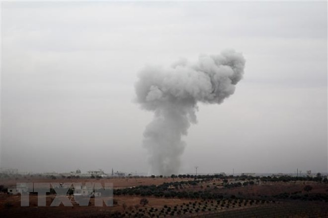 Au moins un mort et plusieurs blessés dans les frappes israéliennes sur la Syrie - ảnh 1