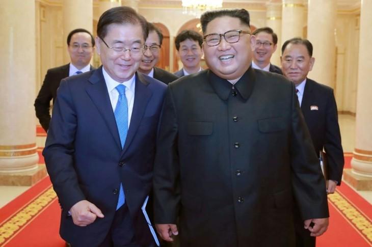 Pyongyang se réengage pour la dénucléarisation  - ảnh 1