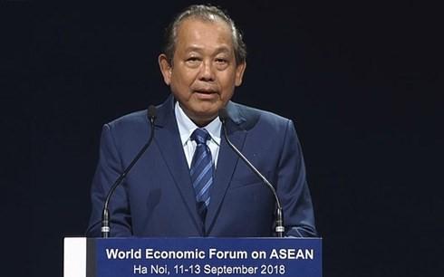WEF-ASEAN 2018 : cérémonie de clôture - ảnh 1