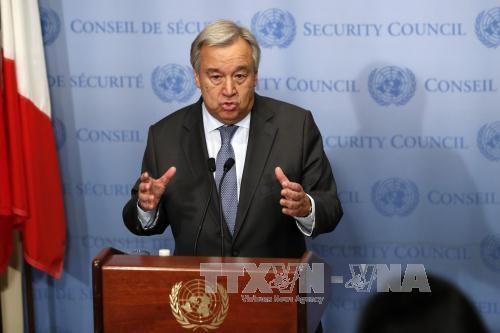 Le chef de l'ONU salue l'accord sur Idleb, un «sursis» pour les civils - ảnh 1