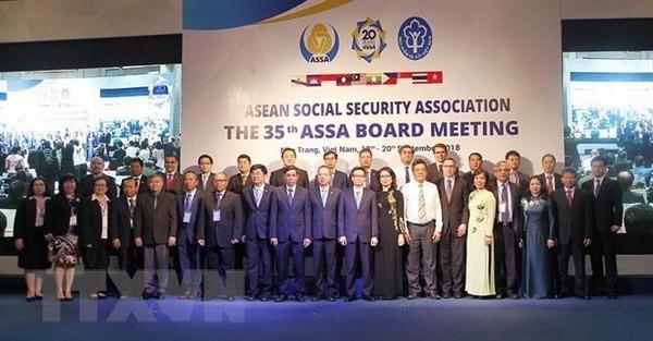 Le Vietnam-président de l'Association de la sécurité sociale de l'ASEAN, mandat 2018-2019 - ảnh 1