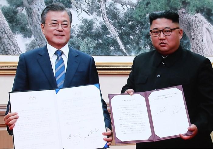 Sommet intercoréen: Une déclaration commune pour la paix - ảnh 1