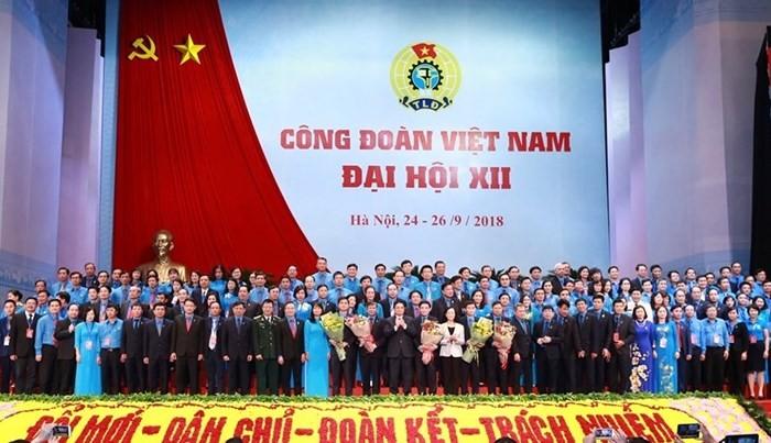 Clôture du 12e congrès national de la CGTV - ảnh 1