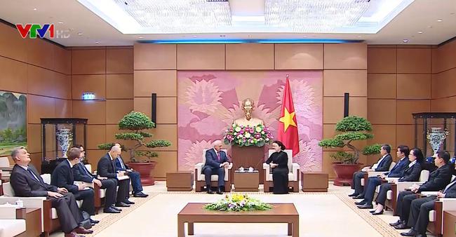 Nguyên Thi Kim Ngân reçoit le président du Sénat biélorusse - ảnh 1