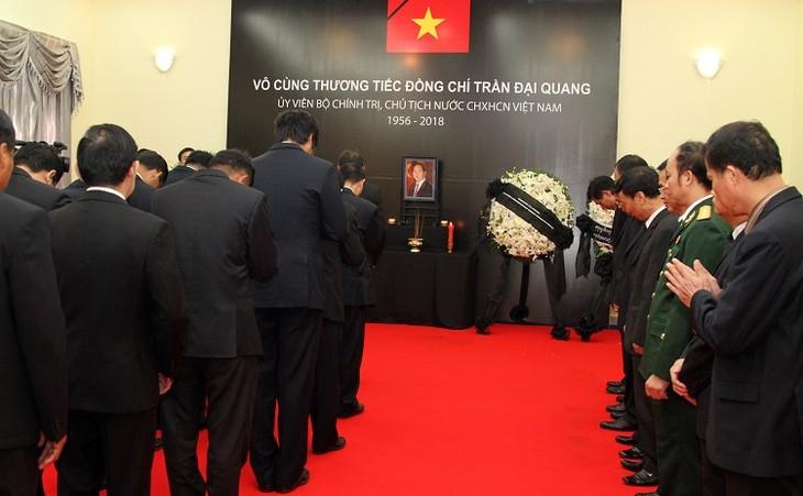 Hommage rendu au président Trân Dai Quang à l'étranger  - ảnh 1