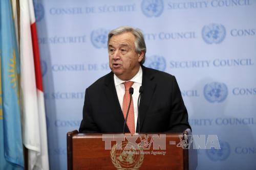 Le changement climatique est une priorité absolue, selon le chef de l'ONU - ảnh 1