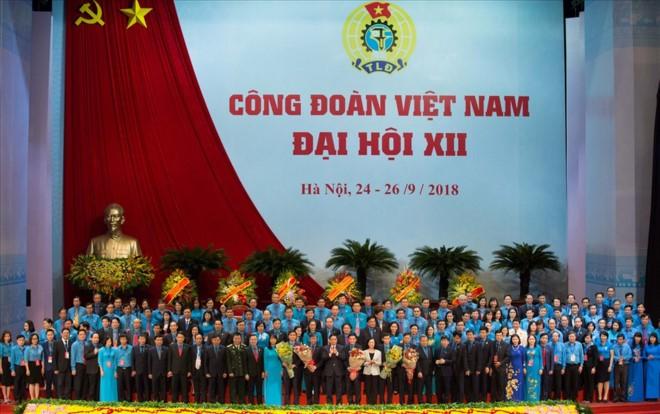 12e Congrès syndical national du Vietnam : conférence de presse  - ảnh 1