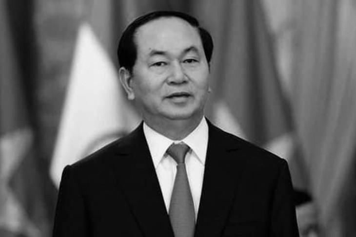Cérémonie en mémoire du président Trân Dai Quang au Vénézuela - ảnh 1