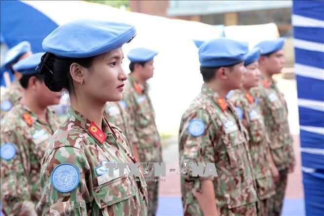 Lancement d'un mouvement d'émulation pour la mission vietnamienne au Soudan du Sud - ảnh 1