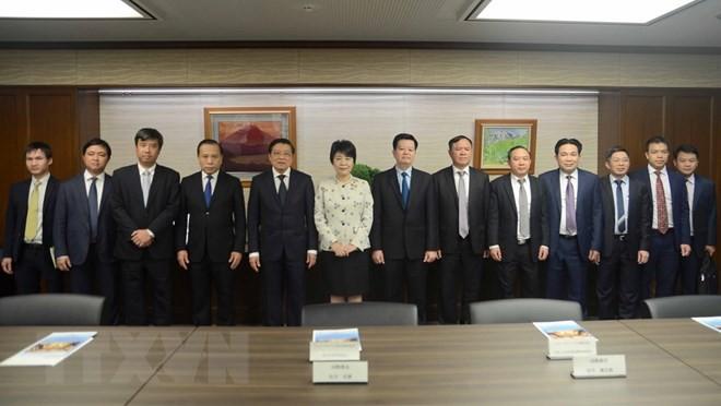 Le chef de la Commission des affaires intérieures du Parti communiste vietnamien au Japon - ảnh 1