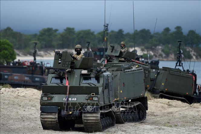 45.000 participants et 10.000 véhicules pour un exercice de l'OTAN - ảnh 1