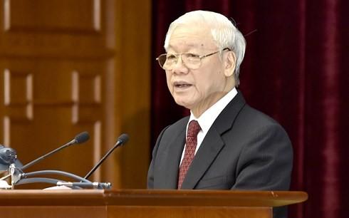 Clôture du 8e plénum du comité central du Parti communiste vietnamien, 12e exercice - ảnh 1