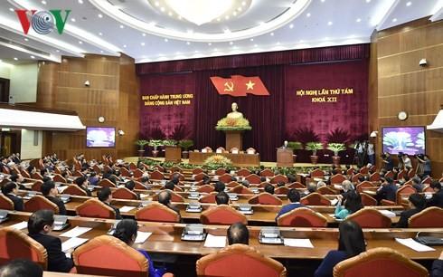 Le 8e plénum du comité central du Parti a achevé tout l'ordre du jour prévu - ảnh 1