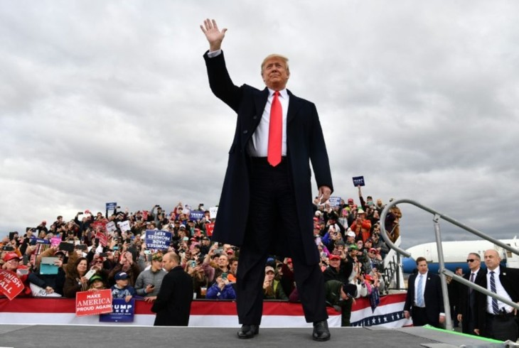 Midterms 2018 : « Un grand jour » pour les républicains, selon Donald Trump - ảnh 1