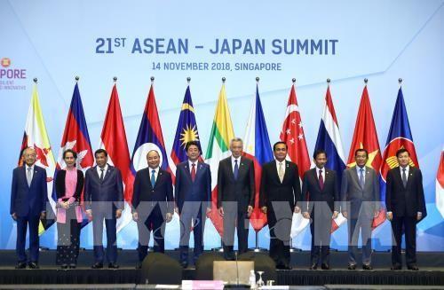 Nguyên Xuân Phuc aux sommets ASEAN-Japon et ASEAN-Russie - ảnh 1
