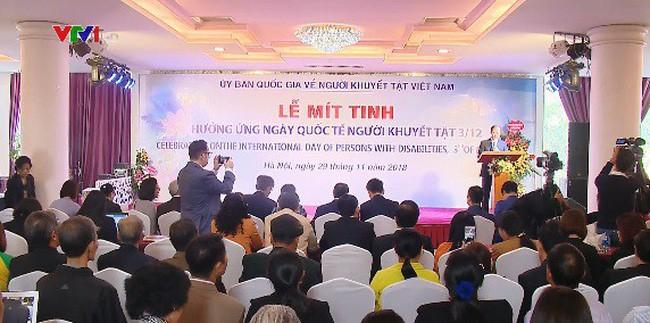 Le Vietnam fait écho à la Journée internationale des personnes handicapées - ảnh 1