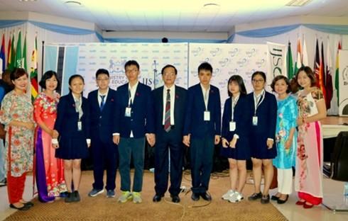 Performances du Vietnam aux Olympiades internationales junior des sciences - ảnh 1