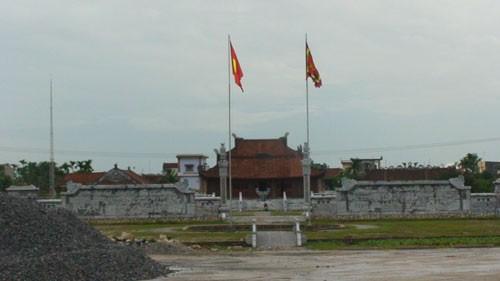 Le temple de Khuc Thua Du à Ninh Giang - ảnh 1
