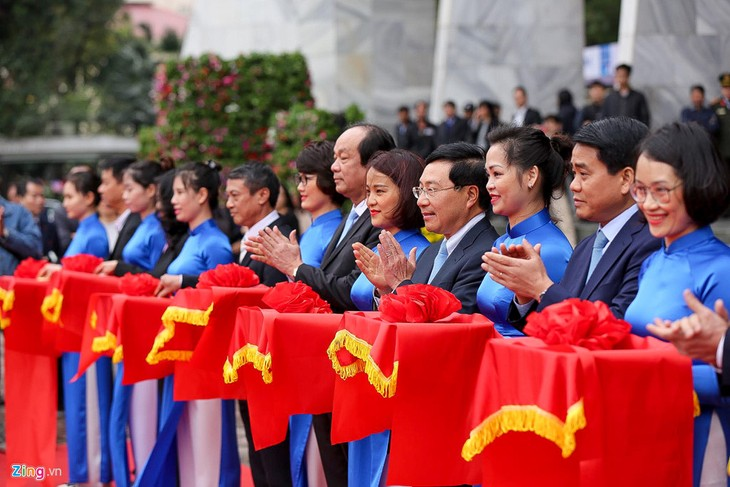 Sommet Trump-Kim: Inauguration du Centre international de presse - ảnh 1