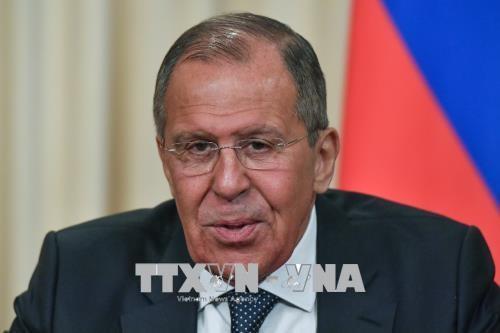 Sergueï Lavrov évoque le déploiement de la police militaire russe à la frontière turco-syrienne - ảnh 1