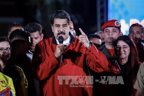 Venezuela: Maduro dénonce un «complot international» par les États-Unis - ảnh 1