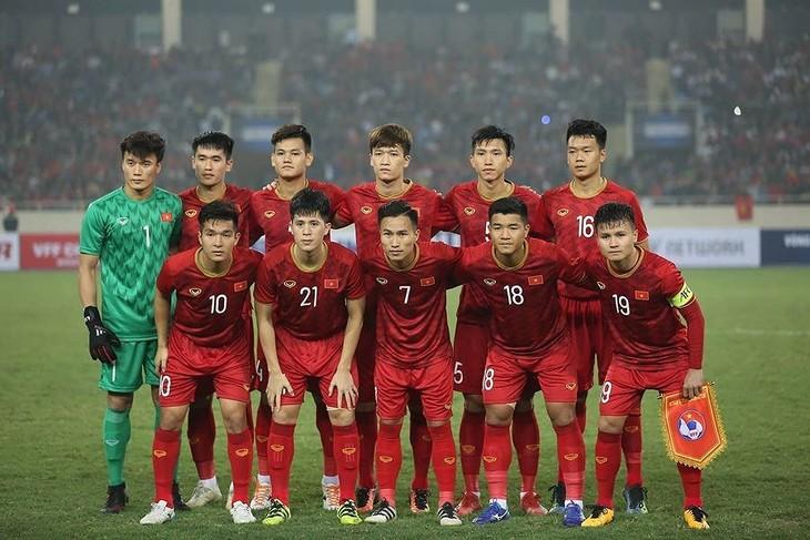 Le secrétaire général de l'AFC félicite l'équipe des moins de 23 ans du Vietnam - ảnh 1