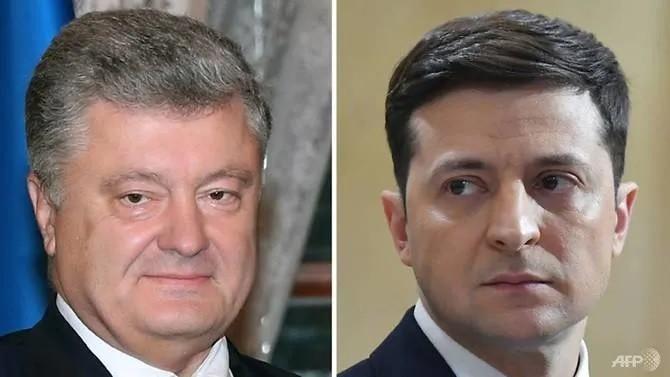 Présidentielle en Ukraine : Zelensky face à Porochenko au second tour - ảnh 1