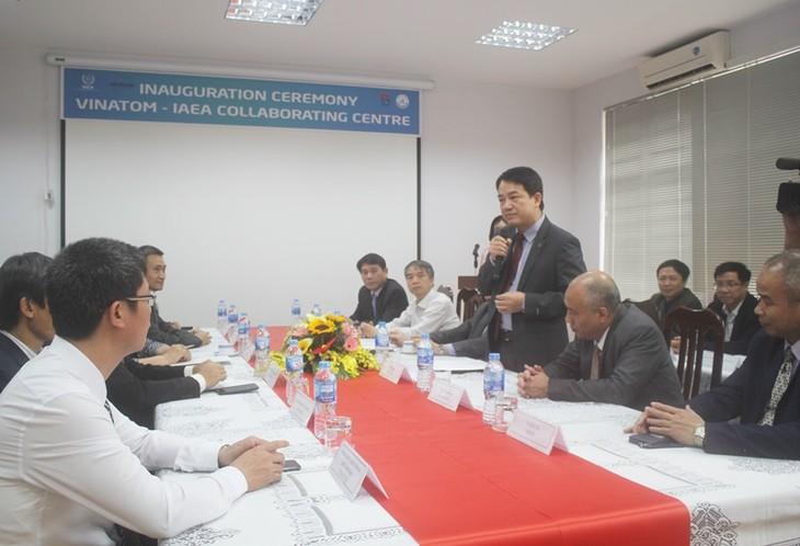 Inauguration d'un centre de l'AIEA au Vietnam - ảnh 1