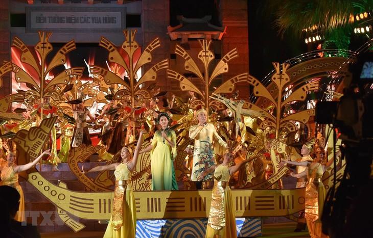 Près de trois millions de visiteurs au mémorial des rois Hùng - ảnh 1