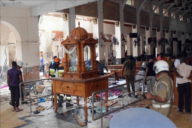 Sri Lanka : une nouvelle explosion près de la capitale, aucune victime à déplorer - ảnh 1