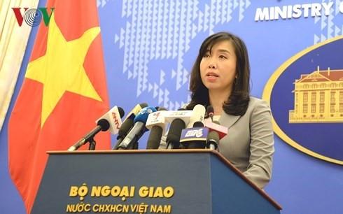 Ministère vietnamien des Affaires étrangères : conférence de presse du 25 avril 2019 - ảnh 1