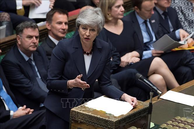 Theresa May espère que le Royaume-Uni sortira de l'UE avant le 31 octobre - ảnh 1