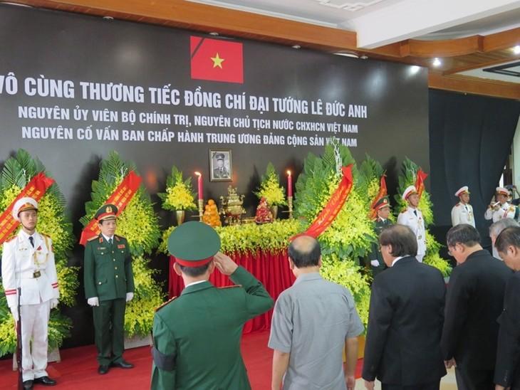 Décès de Lê Duc Anh: messages de condoléances des dirigeants étrangers - ảnh 1