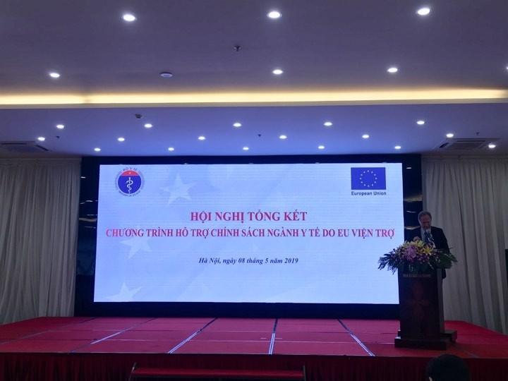 Conférence-bilan du programme d'assistance médicale européen au Vietnam  - ảnh 1
